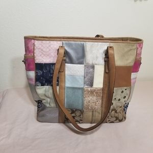 Coach Signature Patchwork Limited Edition Bag